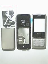 Silver Housing cover Facia Fascia faceplate for nokia 6300 silver fascias