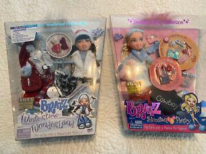 2 Bratz Dolls, new, Slumber Party & Wintertime Wonderland
