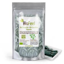 BioFeel - Bio Spirulina / Chlorella Mix Kapseln, 180 Stk., 550mg