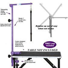 MASTER EQUIPMENT Pet GROOMER Foldable Adjustable Grooming TABLE ARM,CLAMP&LOOP P