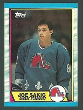 Joe Sakic Quebec Nordiques 1989-90 Topps Card #113 RC