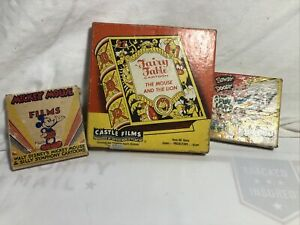 Vintage Lot of 3  -  8mm MoviesCastle Films  Howdy Doody , Xmas Toy Land