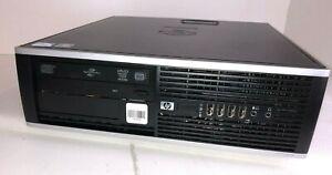 HP Elite 8000 SFF Desktop PC Pentium E5500 2.8ghz 2gb 250gb Windows 10
