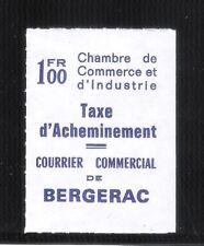 FRANCE - Timbre de grève 1974 Bergerac Catalogue Maury N° 31- Cote 100€