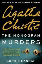 "The Monogram Murders by Sophie Hannah; Agatha Christie ""  A Hercule Poirot Book"