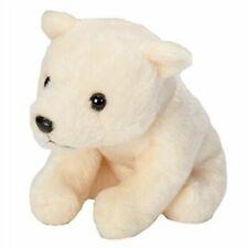 Wild Republic Cuddlekins Lils 15cm Polar Bear Plush Soft Toy Cuddly 18112