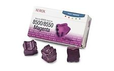 Fuji Xerox 108R00899 3-Pack Magenta Solid Ink Sticks-3000 Pages Phaser 8500/8550