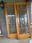 1917 Tiger Oak French Doors