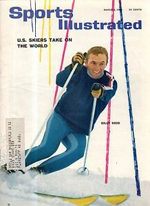 1965 Sports Illustrated March 8 - Billy Kidd - Skiing; Dean Chance L.A. Angels