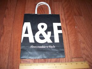 Abercrombie & Fitch Paper/Gift Bag Small