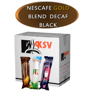 Nescafe Gold Blend Black DECAF for 73mm In-Cup Vending Machines  Drinks x300