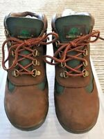 Timberland Kids' Field Boots: Brown/Green Size 5.5