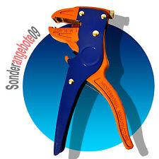 Automatische Abisolierzange 0,2 - 6 mm² Abisolierer KABELSCHNEIDER blau orange
