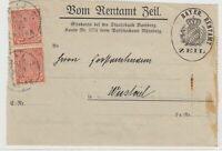 German Postal History Stamps Cover Ref: R4725