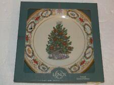 "Lenox Christmas Trees Around The World Plate Mexico 1999 L795 10.75"" dia"