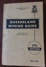 QUEENSLAND MINING GUIDE 1976 - DEPARTMENT OF MINES - INC 2 FOLDOUT MAPS PROSPECT