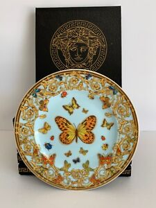 Rosenthal Le Jardin Des Versace Pattern Set of 6 Bread and Butter Plates