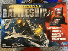 Hasbro Electronic Battleship Game with Lights Sounds Super Weapons NEW Open Box