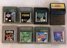 Nintendo n. 8 Giochi per Game Boy e Game Boy Color - Lotto 1 - Usati Testati