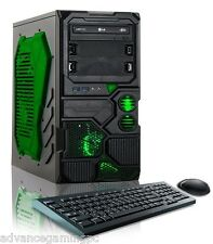 Nvidia GeForce 6 Core Gaming PC Computer 2TB HDD Custom Built Desktop System