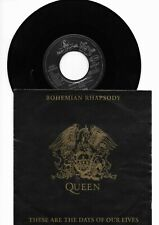 Queen - Bohemian Rhapsody / These Are The Days Of Our Liv. Vinyl NM  Sleeve NM