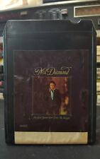Neil Diamond 8 Track Tape Glad Your Here With Me Tonight