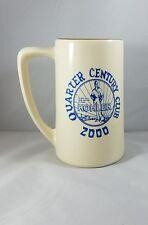 Kohler Co. Quarter Century Club 2000 Millennium Stein