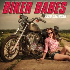 Biker Babes 2020 Premium Square Wall Calendar 16 Months New Year Xmas Decor Gift