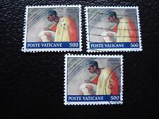 VATICAN - timbre yvert et tellier n° 897 x3 obl (A28) stamp