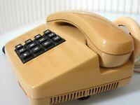 FeTAp 0111 Telefon sandbeige 1989 Fr.Reiner für BP 100%Funktion Festnetz Vintage