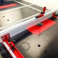 600MM Miter Gauge 75 T-track Aluminium Alloy Universal Woodworking Backer Table