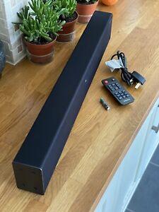 Samsung HW-T400 2.0 Channel Soundbar with Built-In Subwoofer - Black