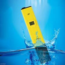 1X Water Digital pH Meter Pocket Tester Pool Measure Pen SPA Aquarium Test Kit