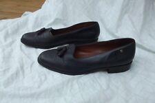 "Women's Etienne Aigner Canterbury Shoes Tassel Black Hipster 1"" Heel size 8 1/2N"
