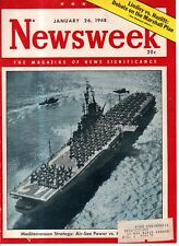 1948 Newsweek January 26-Hong Kong Riots; Peron and the Press; Baruch; Milwaukee