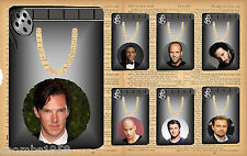 HOLLYWOOD HEART THROBS METAL BOOKMARK IDEAL BIRTHDAY/MOTHERS DAY/FATHERS DAY