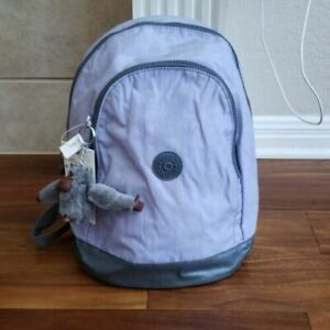 New w Tag Kipling Yaretzi small backpack Active Lilac