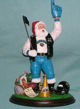 2000 Danbury Mint Nfl Jacksonville Jaguars Santa Claus #1 Fan Football Figurine