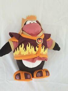 Club Penguin Disney Store Fire Ninja Penguin In Great Condition