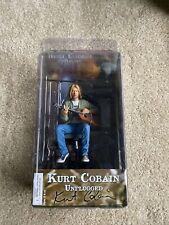 NECA Kurt Cobain Nirvana Unplugged 7 Inch Figure Unopened RARE CANNOT FIND