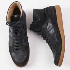 $325 SURFACE TO AIR Black Suede and Leather Mid-Top Sneakers 11 (Eu 44) Shoes