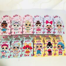 6x LOL Surprise Doll Lolly Loot Bag Box. Party Supplies Cake Bunting Flag Topper