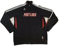 Portland Trailblazers NBA Warm Up Track Jacket XL by Adidas