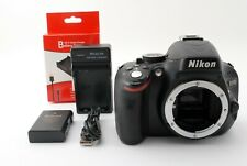 Nikon D5100 16.2MP Digital SLR Camera Body Only Black [Excellent] From Japan