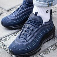 NIKE AIR MAX 97 GS - UK 5/US 5.5/EU 38 - NAVY/BLACK (921522-403)