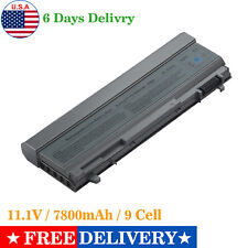9 Cell Battery For Dell Latitude E6400 E6500 E6410 E6510 4M529 F8TTW Fast Ship