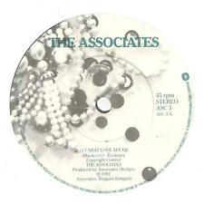 "Associates - 18 Carat Love Affair  - 7"" Vinyl Record Single"