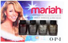 OPI Nail Polish Mariah Carey Four Mini Holiday Hits 4x 3.75ml