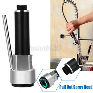 Pull Out Spray Head Faucet Kitchen Mixer Tap Water Shower Nozzle Sprayer Spare