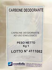 KG.1 CARBONE ATTIVO DEODORANTE per vino aceto grappa distillati ecc